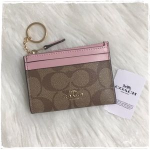 NWT! Coach Mini Skinny ID Case - Key Card Holder
